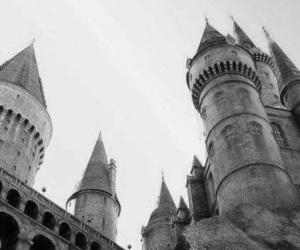harry potter, castle, and harrypotter image