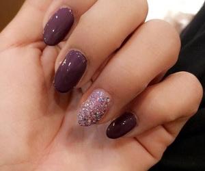 aesthetics, glitter, and hand image
