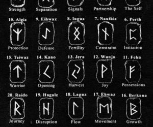 runes and vikings image