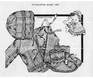 baby, knit, and knitted image