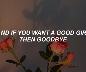 goodbye, poem, and roses image