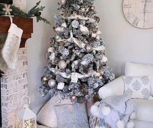 home, christmas, and christmas tree image