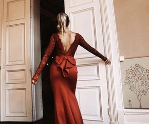 blogger, dress, and hair image