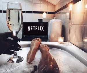 bathtub, cozy, and weekend image