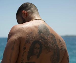 Drake and tattoo image