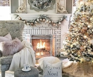 christmas, home, and winter image