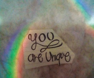 phrases, quotes, and rainbow image