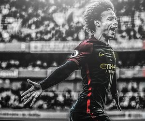 football, premier league, and leroy sané image