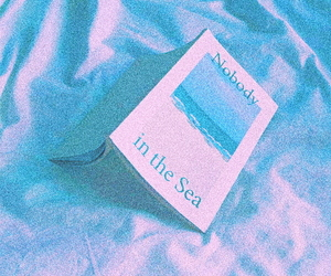 aesthetic, book, and blue image