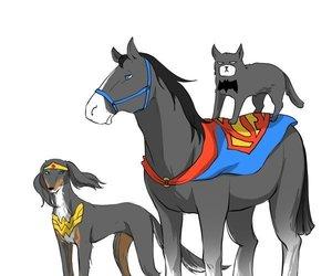 batman, superman, and bruce wayne image