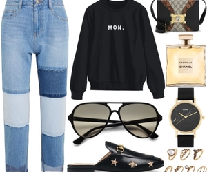 chanel, gucci, and outfits image