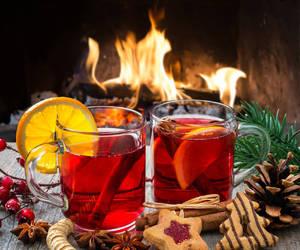 christmas, drinks, and holiday image