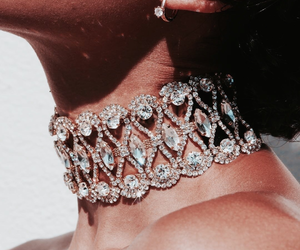 bling, brunette, and style image