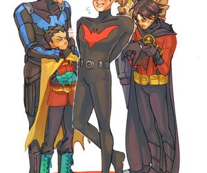 batman, red hood, and batman beyond image