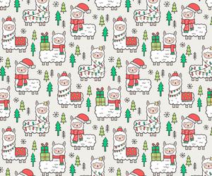 animal, background, and christmas image