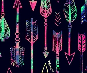 colores, colors, and neon image