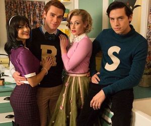 riverdale, jughead, and veronica lodge image