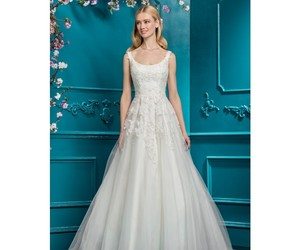 dresses, embroidery, and ivory image