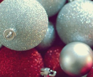 christmas, red, and wallpaper image