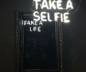 selfie, life, and fake image