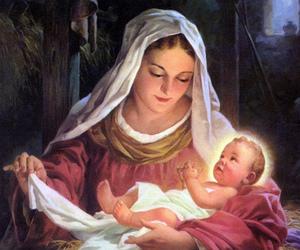 christmas, Holy Family, and madonna image
