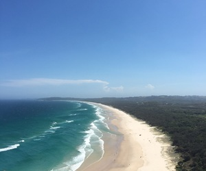 australia, beach, and blue image