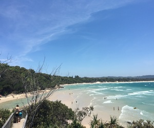australia, beach, and enjoy image