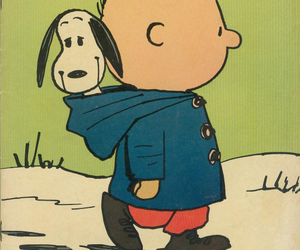 snoopy, charlie brown, and peanuts image