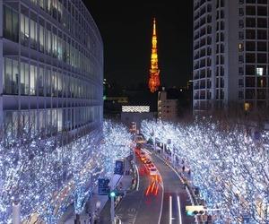 japan, winter, and xmas image