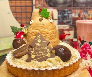 cake, christmas, and ghibli image
