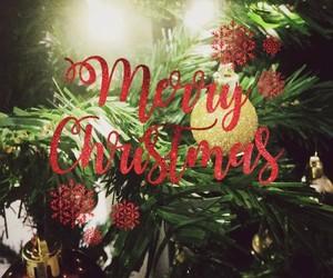 bauble, christmas, and christmas lights image