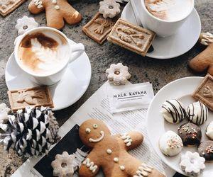 christmas, coffee, and food image