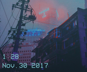 aesthetic, city, and sky image