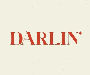 darlin, red, and darling image
