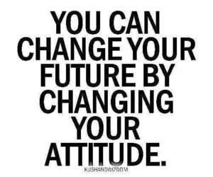 change, attitude, and future image
