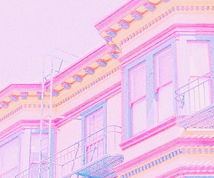 colors, pastel, and pink image
