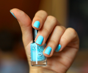 beauty, girly, and nail colour image