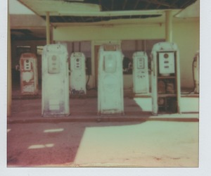 gas station, old, and outlaw image