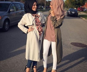 feet, hijab, and islam image