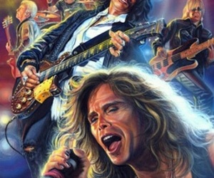aerosmith, rock, and steven tyler image