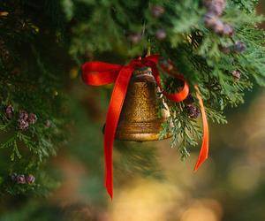 bell, christmas, and holiday image