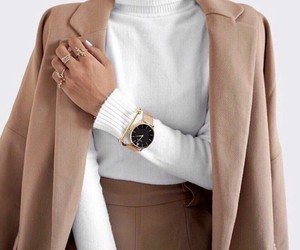 brown, fashion, and jacket image