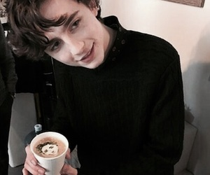 timothee chalamet and boy image