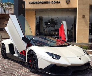 Lamborghini, supercar, and aventador image