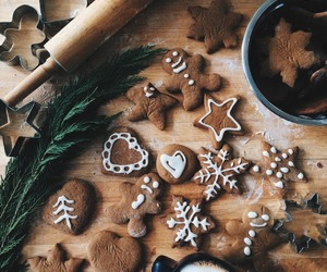 christmas, Cookies, and baking image
