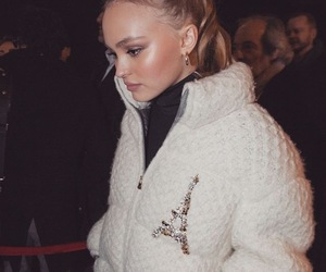 fashion, style, and lily rose depp image