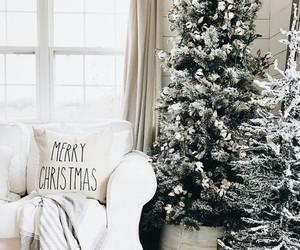 christmas, white, and christmassy image
