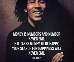 bob marley, inspirational, and quote image