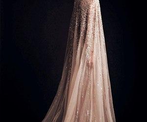 crystal, dress, and elegance image