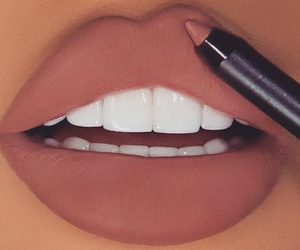 lévre, maquillage, and lips image